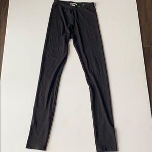 H&M leggings girls 14Y black. Never worn